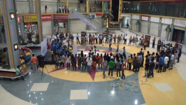 Mall Activities At Kush Banker Dance Classes in Ahmedabad