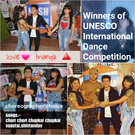 Kush banker at WINNER FOR UNESCO DANCE COMPITIION
